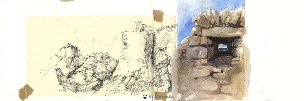 Le vieux chateau Ile d'yeu