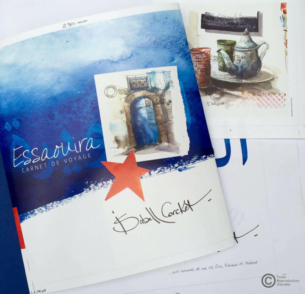 Carnet de voyage Essaouira Isabelle Corcket