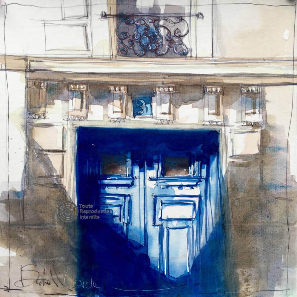 la-porte-bleue-19x19-Isabelle-Corcket